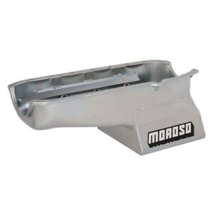 Moroso 20191 Street/Strip Engine Oil Pan 8-1/4 in Deep For Small Block Chevy NEW