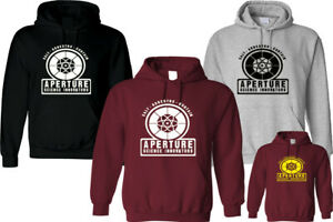 APERTURE SCIENCE INNOVATORS HOODIE INSPIRED UNISEX FUNNY HIPSTER FASHION GIFT