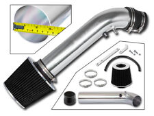 BCP BLACK 96-98 Honda Civic EX/HX 1.6L L4 Air Intake Racing System + Filter