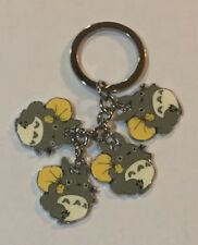 Four Totoro Japanese Anime Key Chain - Look!