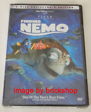Authentic Finding Nemo Dvd 2003 2-Disc Collector's Edition Disney Pixar Sealed