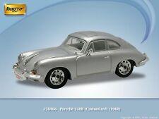 HO 1/87 Ricko # 38466 -1960 Porsche 356B Customized - Silver