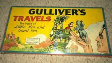 1939 Ma Fleischer GULLIVERS TRAVELS GAME MILTON BRADLEY COMPLETE AND NICE