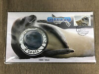 New Mint Sealed Antarctic Crabeater Seal 2018 Medallion Cover Limited to 3,500