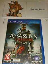 Assassin's Creed 3 Liberation PSV New Sealed UK PAL Assasin Vita PS Vita