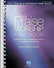 THE PRAISE & WORSHIP FAKE BOOK Bb SHEET MUSIC SONG BOOK