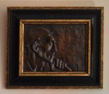 """MEUNIER Constantin (1831-1905) """"Tête de mineur"""" Belgique Hainaut Liege Rodin"""