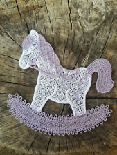 Rocking Horse - Free Standing Lace
