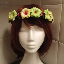 Boho  floral head band/crown/circlet perfect for wedding / race day