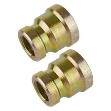 "3/8"" BSP to 1/4"" BSP Air Fitting Female Reducing Socket Adapter 2 PACK FT057"