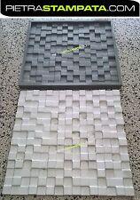 Polyurethane rubber molds form for 3d panels from plaster VENEER STONE MOLDS
