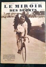 Miroir des Sports 25/08/1931; Harder champion du monde de vitesse amateurs