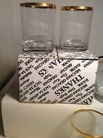 Vintage Bar Glass FRITO LAY Cups Drinking Glasses Lot Set Of 4