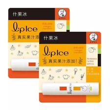 ( Pack of 2 ) Mentholatum Lip Ice Orange + Mandarin Lip Balm SPF 15 ~ 3.5g