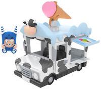 ODDBODS Pogo and the ice cream truck set, Chuddiki, Cartoon Character