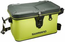 SHIMANO Rod rest boat bag (hard type) BK-007R lime 32L from Japan F/S