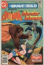 Brave and the Bold #140 April 1978 VG Wonder Woman