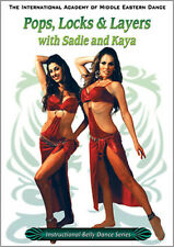 Pops, Locks & Layers Belly Dance DVD - Sadie & Kaya Video
