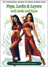 Pops, Locks & Layers Belly Dance DVD - Sadie & Kaya Video