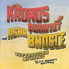 KRONOS QUARTET & ASHA BHOSLE - You've Stolen My Heart, Advance Release, NEW