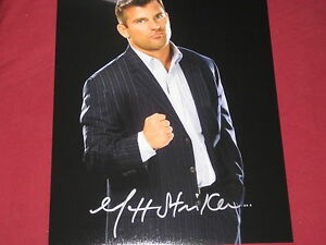 WWE WRESTLING GREAT MATT STRIKER AUTOGRAPH 8X10 PHOTO W/COA