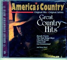 (EI528) America's Country, Great Country Hits - 1997 sealed CD