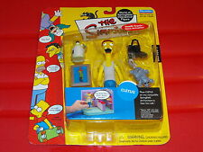 2001 Playmates The Simpsons WOS Series 7 Cletus Figure New MOC