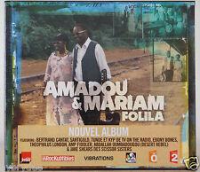 album Cd AMADOU & MARIAM : Folila neuf edition limitée digipack  Mali Afrique