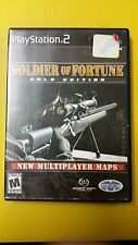 SOLDIER OF FORTUNE - Game - PLAYSTATION 2 PS2 (C6/S1)