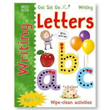 Learn to Write LETTERS Wipe Clean Book Dry Erase Wipe Clean Pen Kids Pre School