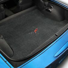 Lloyd Mats ULTIMAT TRUNK MAT Ebony 2006-2013 Chevrolet CORVETTE Z06 C6 Logo