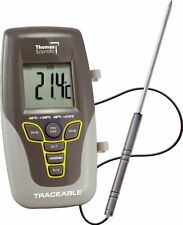 Thomas Traceable Kangaroo Thermometer 7.5 Probe 58 to 572 degree F 50 300 C