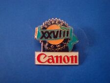 Canon Super Bowl XXVIII Logo Pin