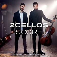 2 CELLOS SCORE London Symphony Orchestra CD NEW