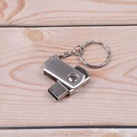 1PC Silver metal usb 2.0 pen drive 8GB usb flash drive memory sticks JCAU