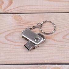 1PC Silver metal usb pen drive 8GB usb flash drive memory sticks*k
