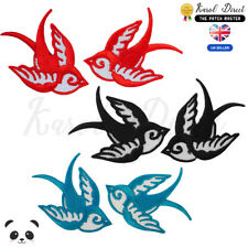 Bird Swallow Swiftlet Bee Bat Pelican Duck Penguin Peace iron on patches #31