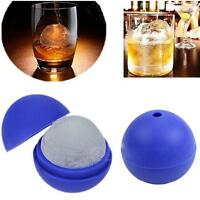 Silicone Death Star Wars Round Ice Cube Ball Mold Tray Desert Sphere Mould DIY