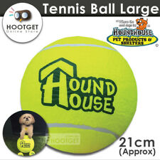 Large HoundHouse Big Dog Tennis Ball Pet Puppy Interactive Play Fetch Toy AU