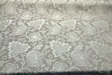 Renaissance Chenille Pumice Beige Italian Cut Upholstery Fabric by the yard
