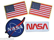 NASA Space Agency Logo Kostüm Eisen Aufnäher Set -03