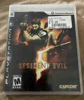 Resident Evil 5 (Sony PlayStation 3, 2009) PS3 Tested