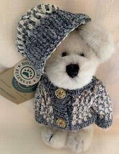 Boyds Bears Maya Berriman W/Blue Sweater * New W/Tags *