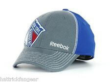 New York Rangers Reebok M077Z NHL Draft Stretch Fit Hockey Cap Hat L XL fe4a5dd51