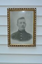 Vintage  Photo of Young Man In Wood Frame In Great Condition
