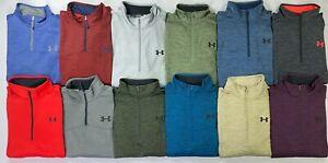 Men/'s Big /& Tall Under Armour Coldgear Quarter Zip Fleece Lined Jacket