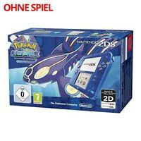 Nintendo 2DS - Konsole #Pokemon Alpha Saphir Edt. ohne Spiel mit OVP Top Zustand