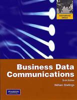 Business Data Communications: International Edition, Stallings, William, Used; G