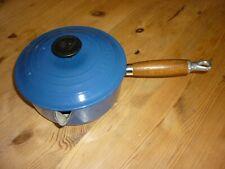 Le Creuset Casseruola con coperchio 18cm Blu