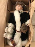 Boyds Collection Sonya Frosty Polar Bear # 4112 Yesterday's Child Porcelain Doll
